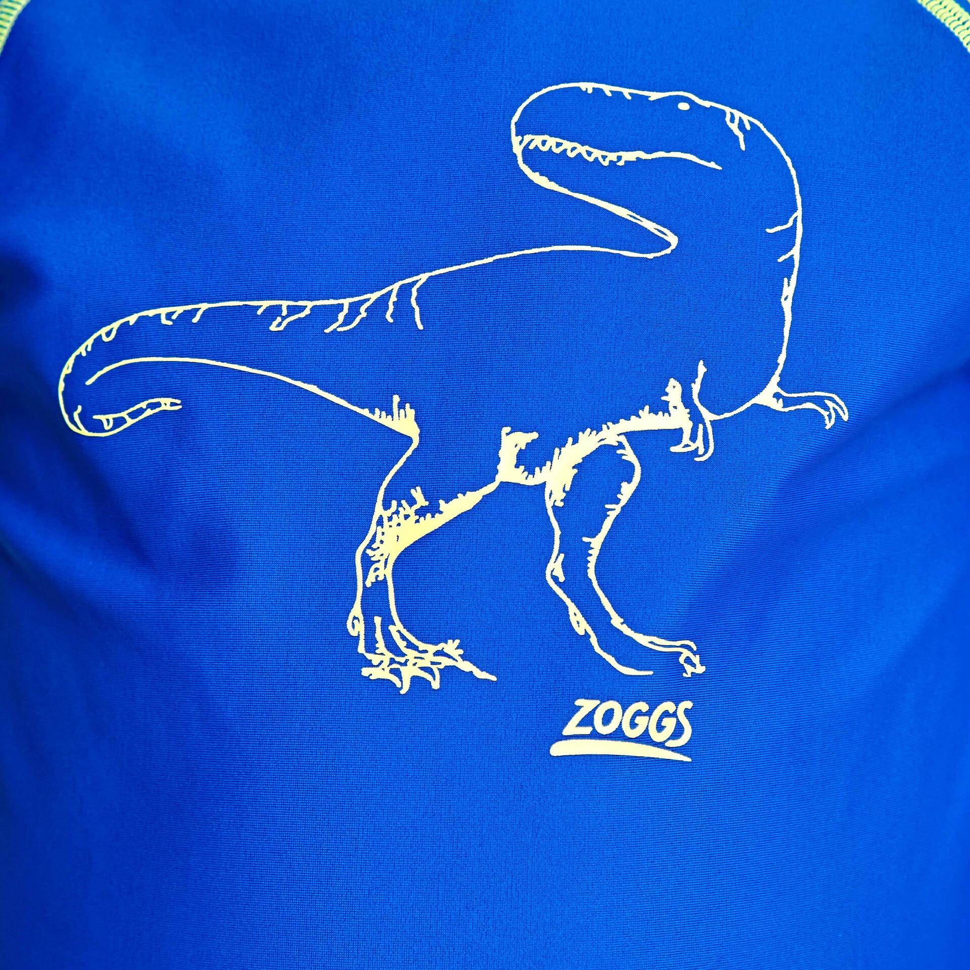 Zoggs Dino Land Maglietta anti UV a maniche lunghe Ragazzo, blue su Addnature DQhoR